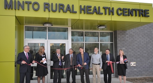 Minto Rural Health Centre Opens